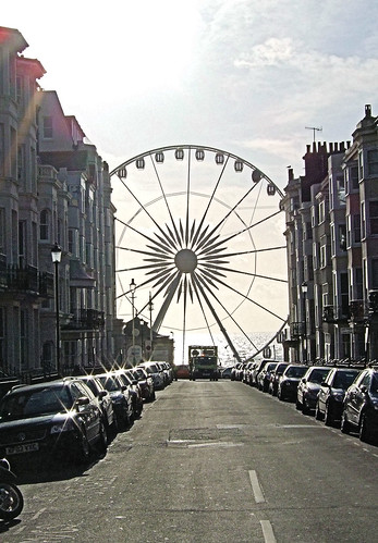 The Brighton Wheel Seen From Kemptown.