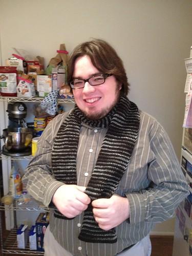 Matt and his scarf