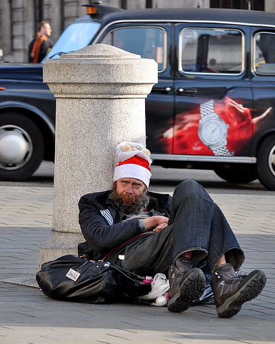 Recession Hits Santa