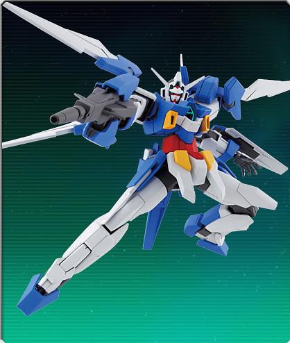 HG 144 Gundam AGE-2 Normal Model Kit Photos (5)