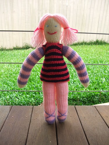 Knitted Doll 1