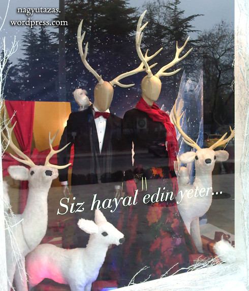 Törökös karácsony: Aganccsal is elegánsan