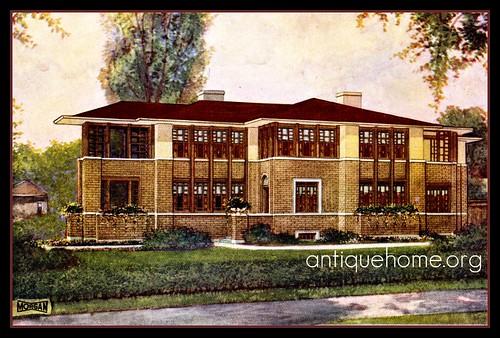 Prairie Style House Plan by Morgan