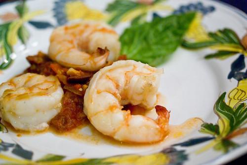 crevettes a la provencale