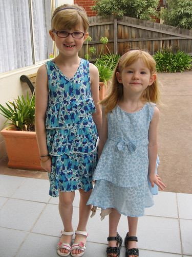 photo a day challenge - my kids dressed up for church