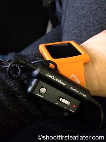 iPod Nano & Audio-Technica ANC23
