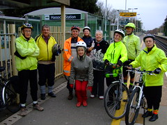Group photo. Hassocks Station.
