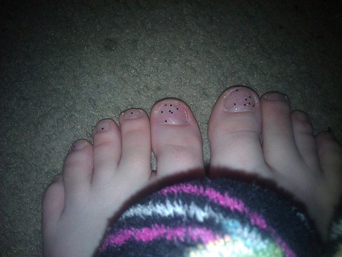 030/366 [2012] - Glittered Toes by TM2TS