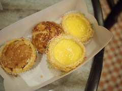 Chicken pie, siew bao, egg tarts, Fung Wong Confectionery, Malaysian Food Street, Resorts World Sentosa