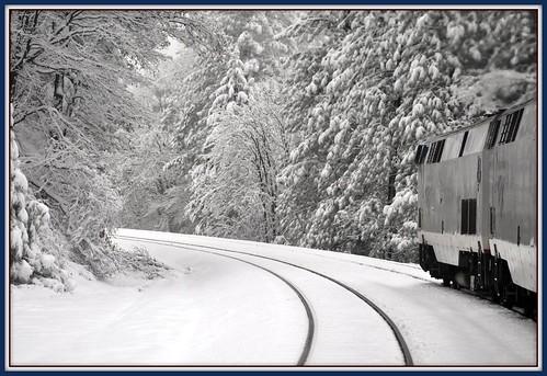 Sierra Nevada's from Train by Loco Steve