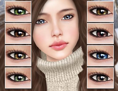 Natural MESH Eyes