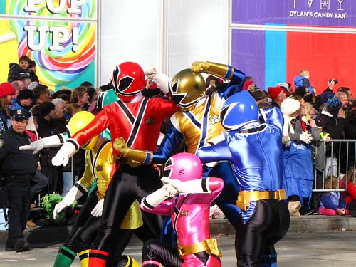 Power Rangers Samurai at 85th Macy's Thanksgiving Parade