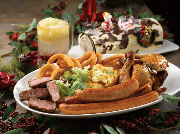 NYDC's Hearty Christmas Roast Platter