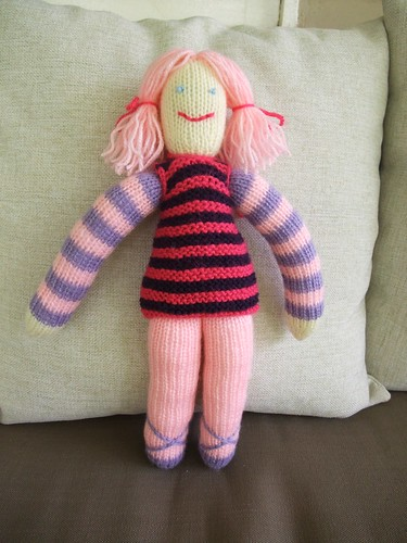 Knitted Doll 4