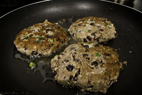 Salmon Black Bean Patties 05