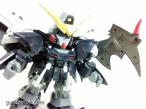 SD Gundam Online Deathscythe Hell Custom Toy Figure Unboxing Review (40)