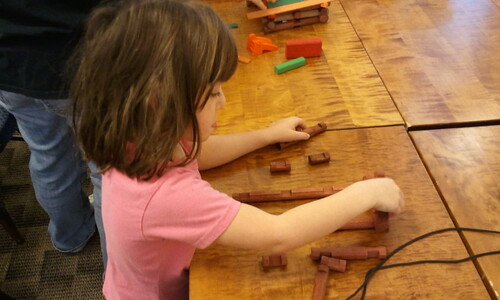 Lincoln logs were originally made out of pine!