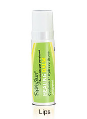 FixMySkin Healing Lip Balm Unscented with 1% Hydrocortisone