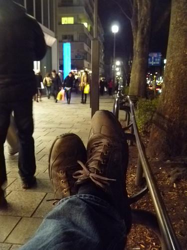 Feet in Harajuku by MangoBaumkuchen