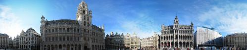 Grand Place 360 panorama