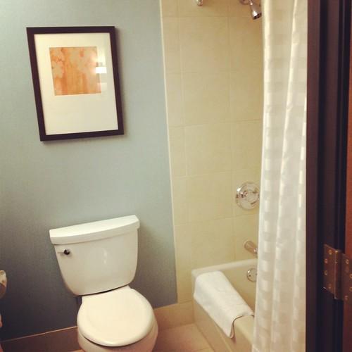 bathroom hyatt place milwaukee
