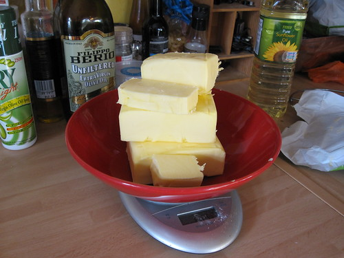 That's a lot of butter