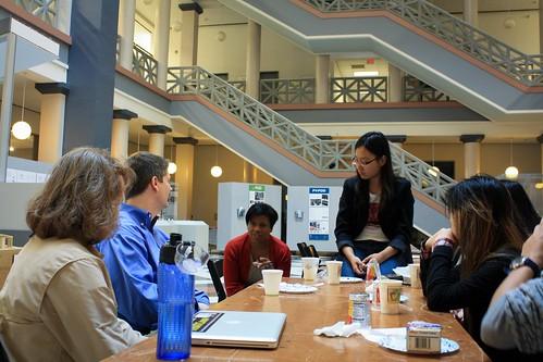 Houston Startup Weekend Saturday Nov 2011-4 by sarahmworthy
