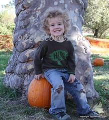 Gan on a Pumpkin