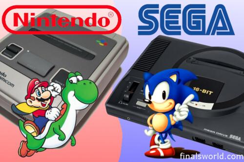 Nintendo VS Sega