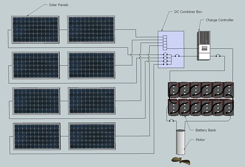 FLUPSY Electrical Schematic