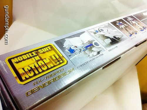 MSIA Dendrobium RX-78GP03 Gundam Figure Rare 2001 (6)
