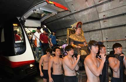Embarking on a SMRT tunnel walk