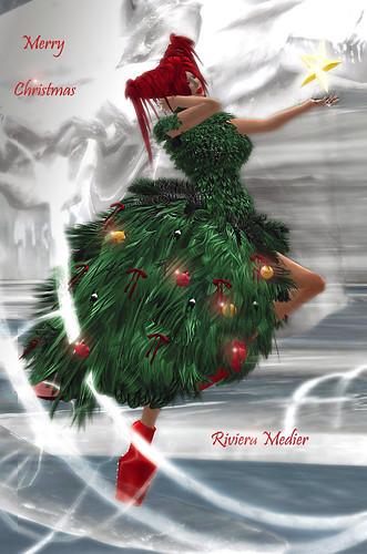 Merry Christmas Card  by Riviera Medier