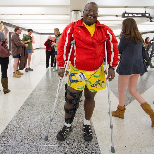 No Pants Subway Ride San Francisco 2012: support