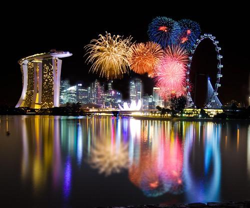 Singapore 2012 Countdown Firework