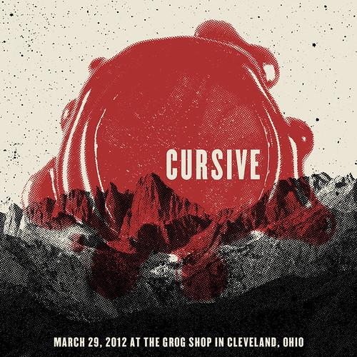 Cursive Concert Poster
