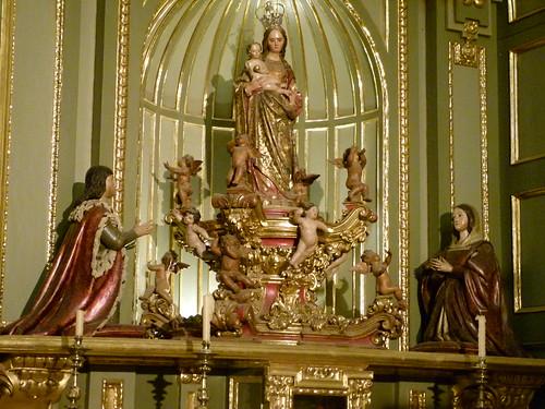 Virgen de los Reyes. Catedral de Málaga