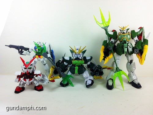 SD Gundam Online Capsule Fighter ALTRON Toy Figure Unboxing Review (39)