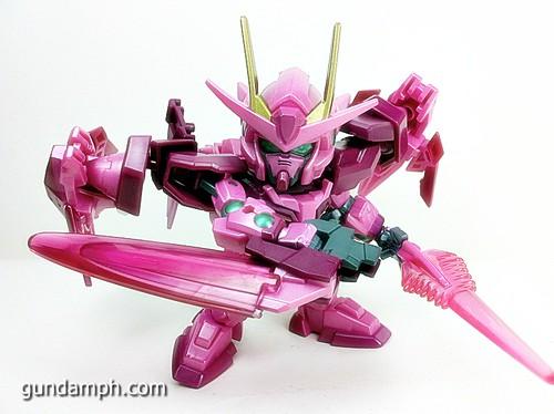 SD Gundam Online Capsule Fighter Trans Am 00 Raiser Rare Color Version Toy Figure Unboxing Review (61)