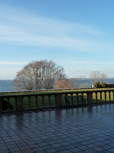 The view of the LI Sound from the Reception Room