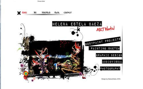 web 2009 show home