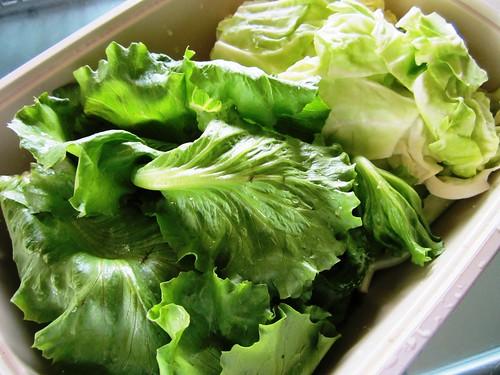 STP's steamboat - vegetables