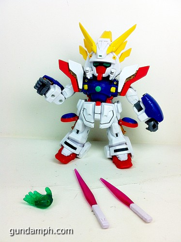 SD Archive Shining Gundam Unboxing Review (15)