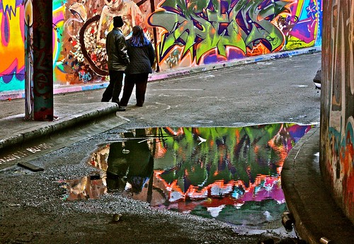 Graffiti Puddle