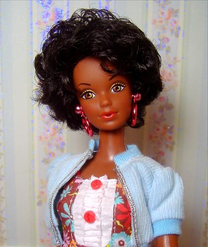 """1980 """"Black Barbie"""" repro Steffie in SiS #2"""