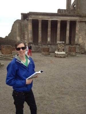 My trusty Pompeii tour guide
