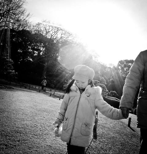 Rikugi-en Garden. 駒込