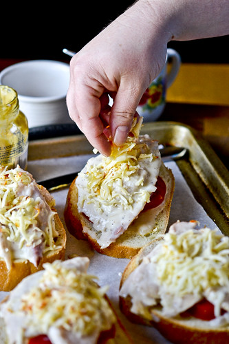 Hot Brown Turkey Sandwiches 11