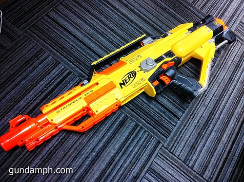 NERF Sale 50% Off Stampede Raider Recon Unboxing Review (26)