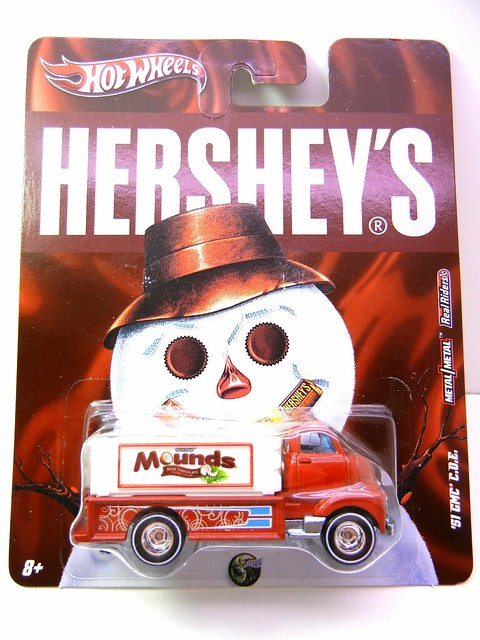 HOT WHEELS NOSTALGIA HERSHEYS '51 GMC PANEL C.O.E (1)